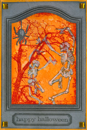 Dancing Skeletons and Grunge Tree