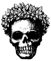Skull with Wreath